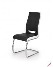 czarno białe krzesło do kuchni
